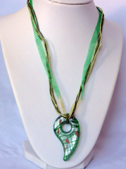 Necklace inspired by Murano-5