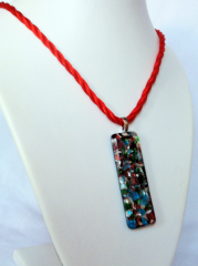 Necklace inspired by Murano-15