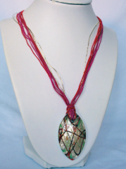 Necklace inspired by Murano-9
