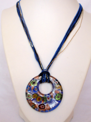 Necklace inspired by Murano-25