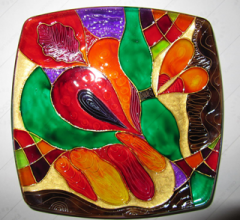 Painted Plate-02