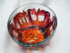 hand- painted Bowl