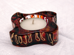 Hand- painted Candlestick -z01