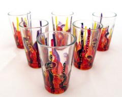 Hand-painted glasses_0313_01