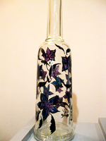 Hand- painted bottles-i33