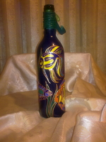 Painted Bottles-3