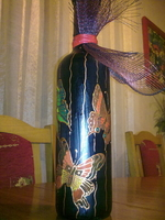 Painted Bottles-5