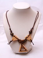 "Ceramic Necklace ""Ethnic""_5156"