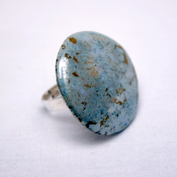 Ring of ceramics and glass-5195